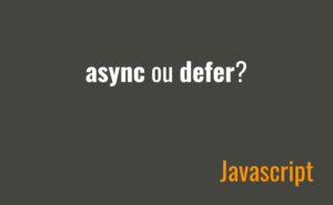 Async ou Defer?